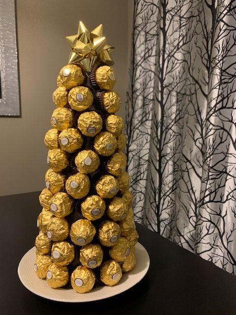 My Ferrero Rocher ChristmasTree